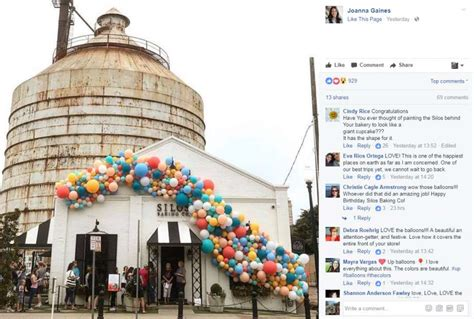 chip and joanna gaines bakery fixer upper stars chip and joanna gaines celebrate one