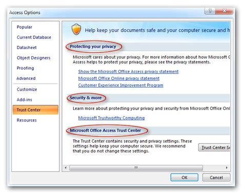 disable microsoft office 2007 privacy options neoncovers
