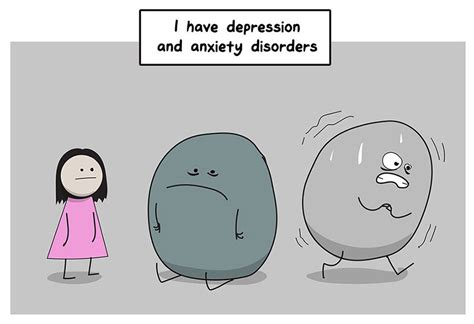 libro i had a black dog di matthew this comic perfectly explains why anxiety depression are so difficult to fight bored panda