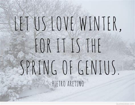 winter quotes winter quotes