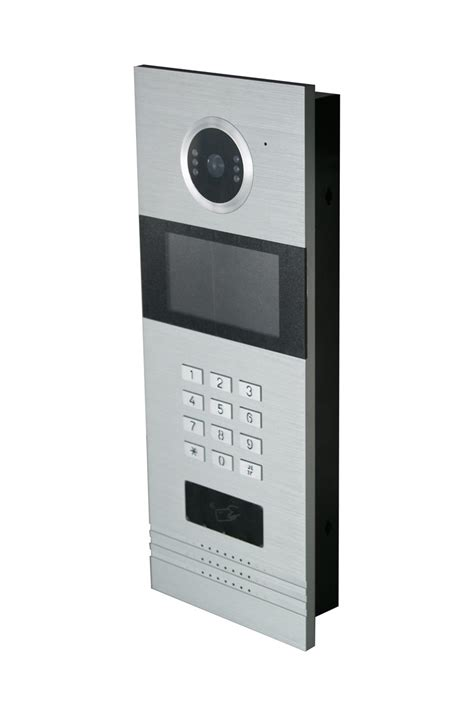 multi apartments home security intercom system tcp ip