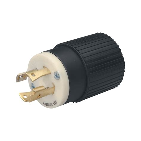 l socket with cord reliance generator plug 30 amps 125 250 volts l14 30