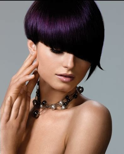 purple black hair color bold hair color ideas 2011