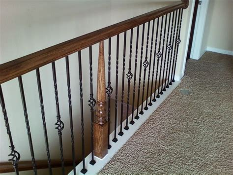 Spindles And Banisters by 17 Best Ideas About Iron Balusters On Iron