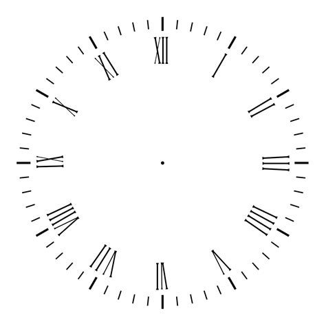 printable clock hands template printable clock without clock 2 by agf81