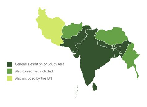 map of south asia political south asia political map
