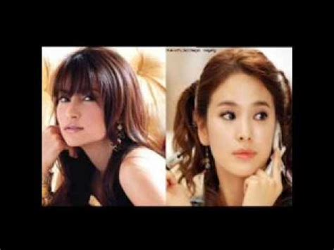 film thailand vs korea thai actress vs korea actress youtube