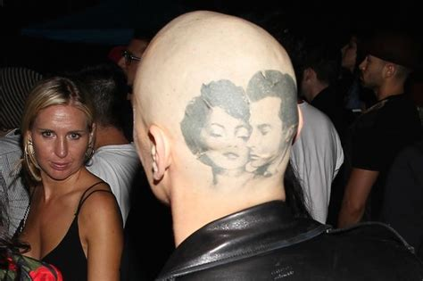 does james franco have tattoos franco at concert with