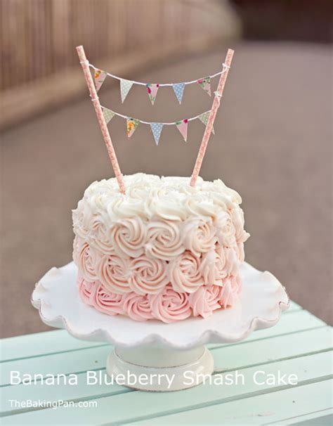 cake smash cakes banana blueberry smash cake recipe birthday cake