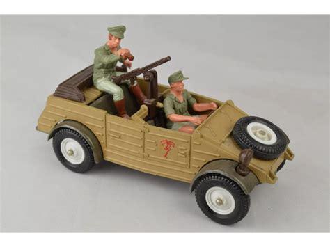 Decke Vintage by Britains Deetail 9785 German Afrika Korps Kubelwagen
