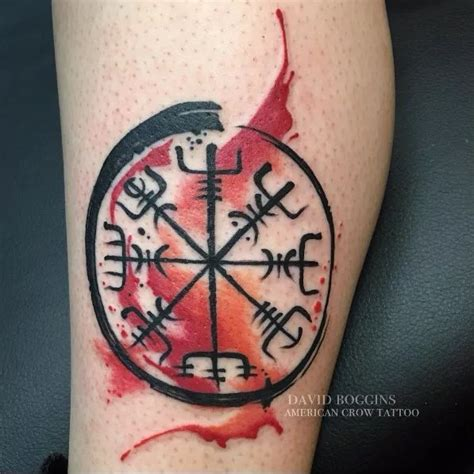 vegvisir tattoo designs best 20 ideas on