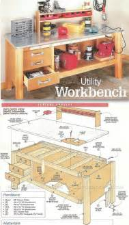 Ideas For Workbench With Drawers Design 17 Best Ideas About Workbench Plans On Work