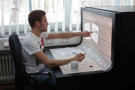 Touch Screen Computer Desk Smart Desks Zte Corporation