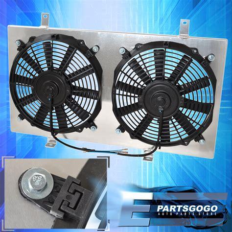 acura rsx radiator fan 2002 2005 acura rsx mt jdm aluminum radiator fan shroud