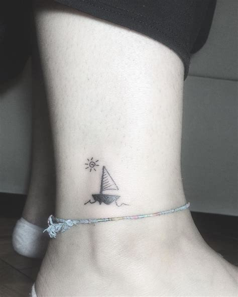 sailboat tattoo meaning best 25 sailboat tattoos ideas on boat