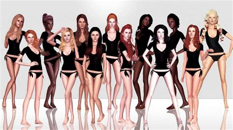 The Sims Next Top Model Week One sims next top model cycle 10 episode 1