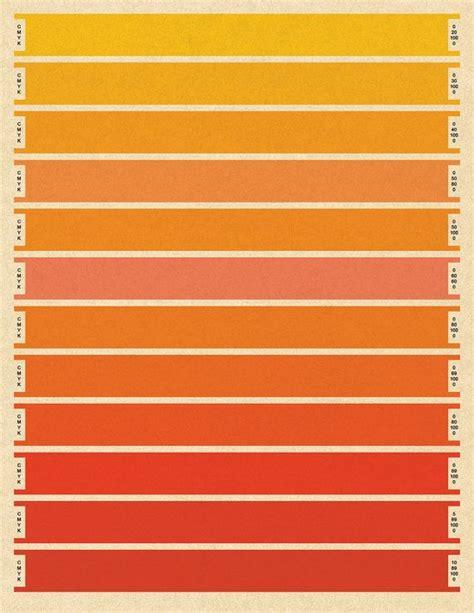 best orange color code best 25 cmyk color chart ideas on pinterest pantone