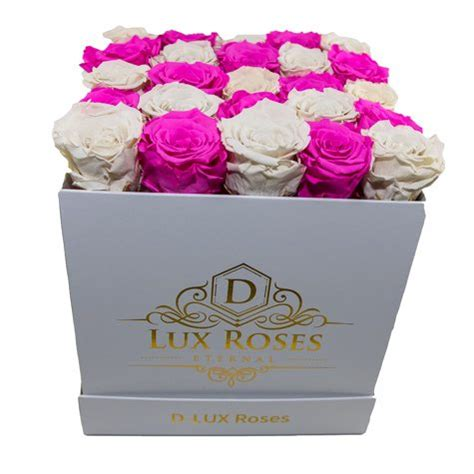 Box A Single Lavender Preserved Flower Represent Enchantment preserved roses dlux large bouquet fast delivery highest quality