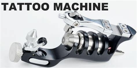 tattoo machine vibration sunskin alu primus rotary tattoo machine gun low vibration