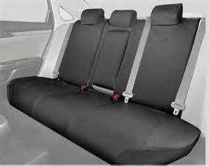 Seat Cover Honda Civic 2017 2016 2017 Civic 4dr Rear Seat Covers 60 40 Split Design Seat