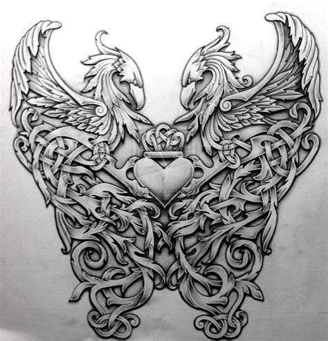 celtic back tattoo designs tattoos celtic norse celtic by design