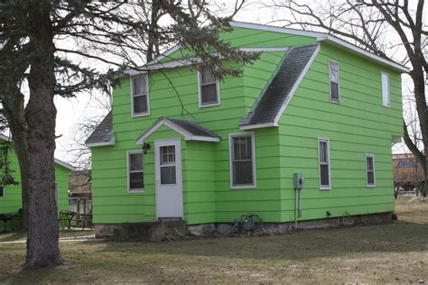green colored houses paint colors minnesota prairie roots