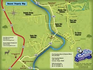 frio country resort maps friocountry