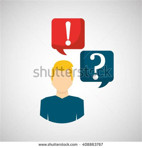 call center design questions speechbubbles question exclamation mark stock illustration