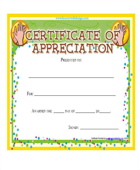 employee appreciation certificates templates bing images