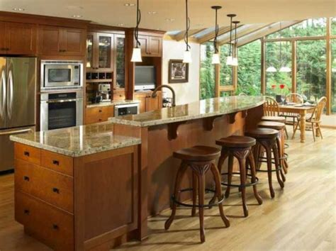 Kitchen Island With Seating For 3 Two Level Kitchen Island Kitchen Counter Pinterest Kitchens Sinks And Island Design