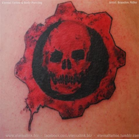 gears of war tattoo designs gears of war brandon miller tattoos