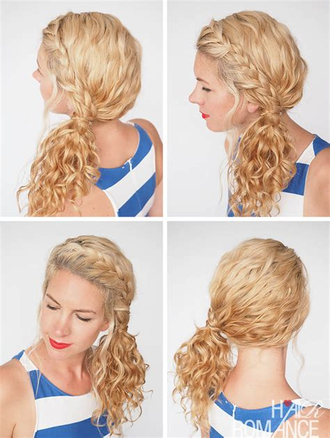 Hairstyles For Hair For Picture Day by 30 Curly Hairstyles In 30 Days Day 3 Hair