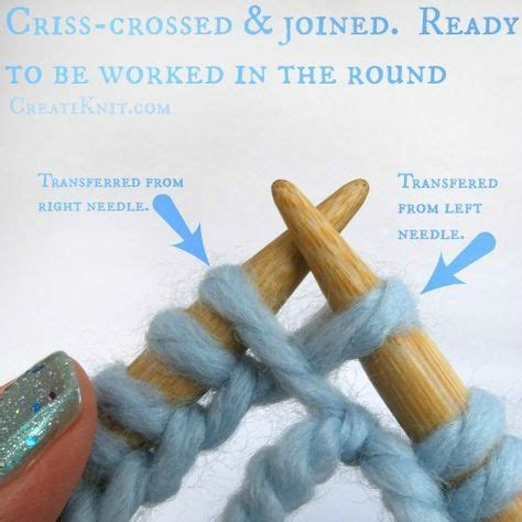 joining circular knitting learn to join in the with circular knitting