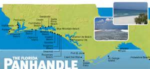 panhandle vacation rental map find rentals