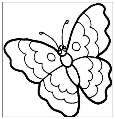 disegni di farfalle e fiori disegno farfalla da colorare farfallina fiori per bambini