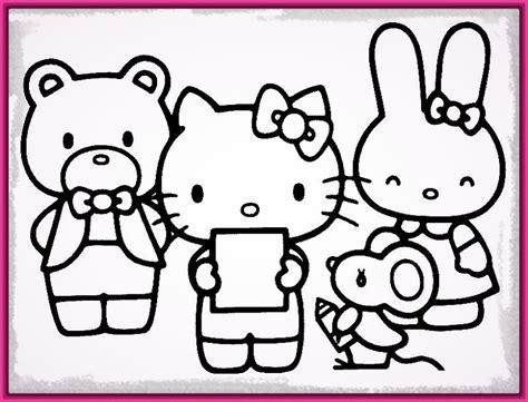 imagenes de navidad para dibujar en color dibujos kitty navidad para colorear archivos imagenes de