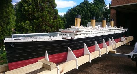 titanic model boat for sale world s largest 3d printed titanic model escapes fate is
