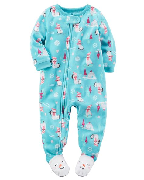 Pajamas Baby s baby 1 footed fleece pajamas pj s ebay