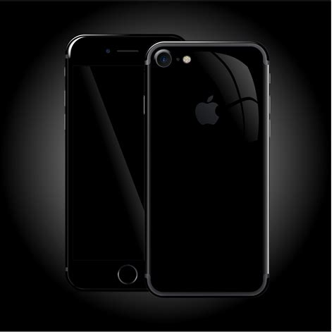 iphone 8 luxuria high gloss jet black skin easyskinz