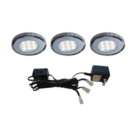 Led Puck Light Kit by Dals Lighting K4007fr Wh 3 Slim Led Puck Kit With