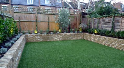 garden walls yellow brick raised bed walls artificial easy grass