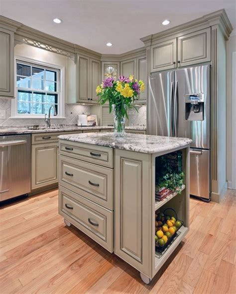 island in a small kitchen small kitchen island ideas home design and decoration portal