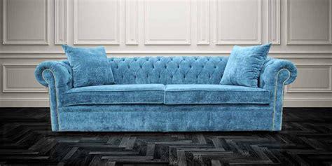 Buy Teal Blue Velvet Chesterfield Sofa Designersofas4u Teal Chesterfield Sofa