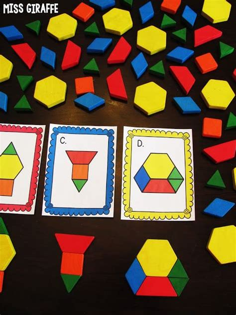 pattern shapes math learning center 1000 images about early childhood math prek 2 on