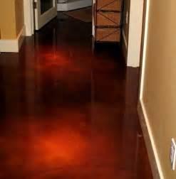 cement acid wash floor hubby s office