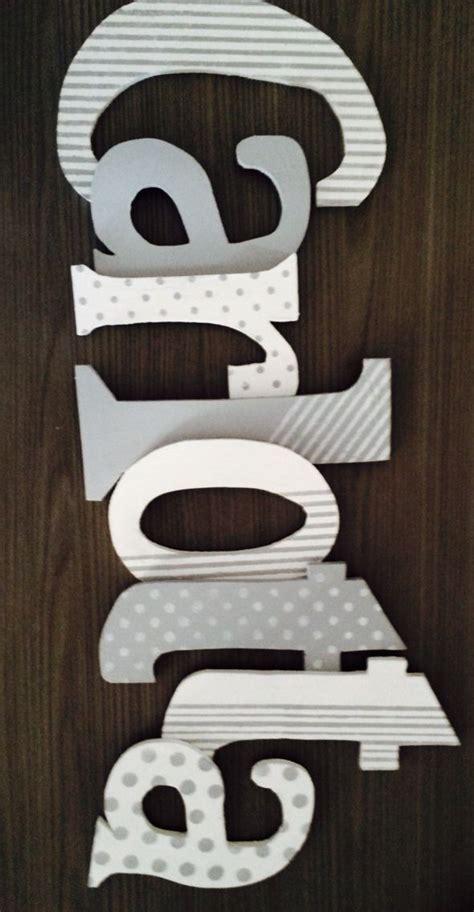 lettere legno le 25 migliori idee su lettere di legno decorate su