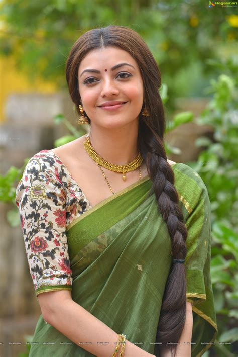 photos of heroine in saree check out exclusive unseen hd photos of heroine kajal