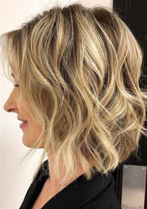 43 perfect short to medium hairstyles for fine hair 2018