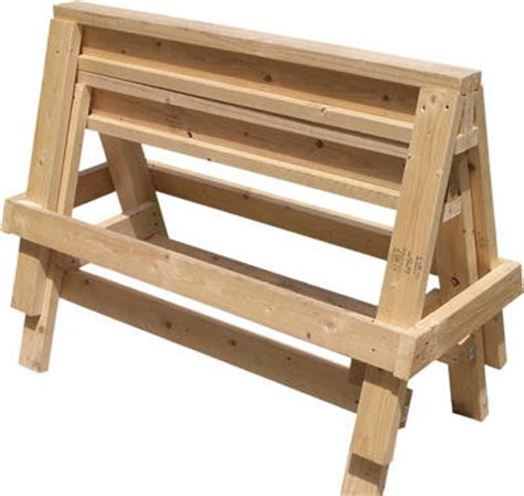 Home Depot Design Your Own Deck why you must absolutely run out and build a sawhorse right