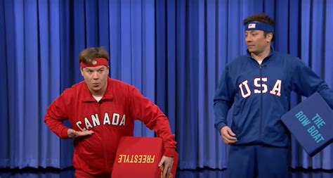 mike myers canada mike myers defended canada s honour in a dance off with